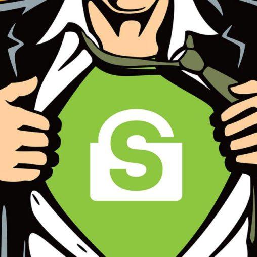 suberbohater zachęcający do szyfrowania danych