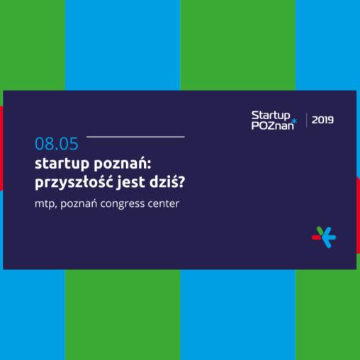grafika konferencji startup poznań: przyszłośc jest dziś