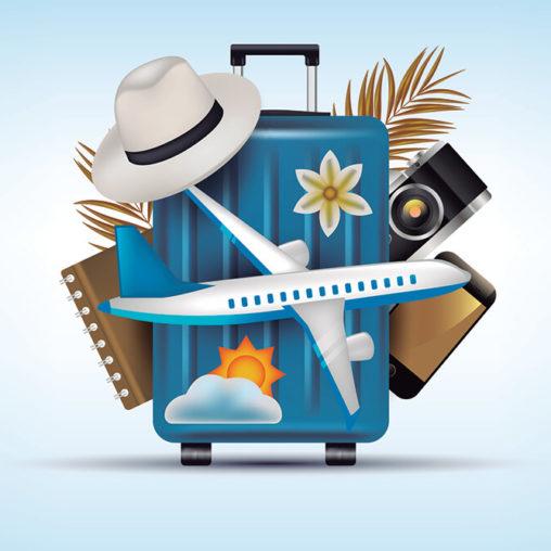 spakowana walizka na wakacje