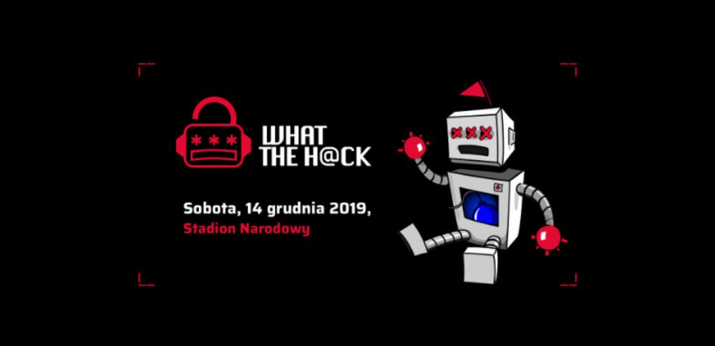 logo konferencji what the hack