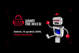 logo konferencji what the hack